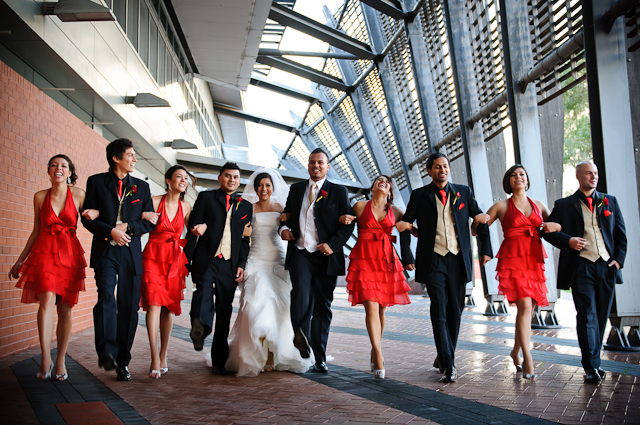 Laura and Elvis's Wedding-The Bridal Party