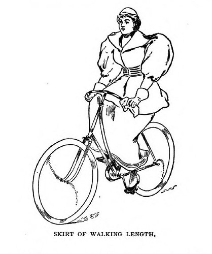 Cycling - 1895 womens attire