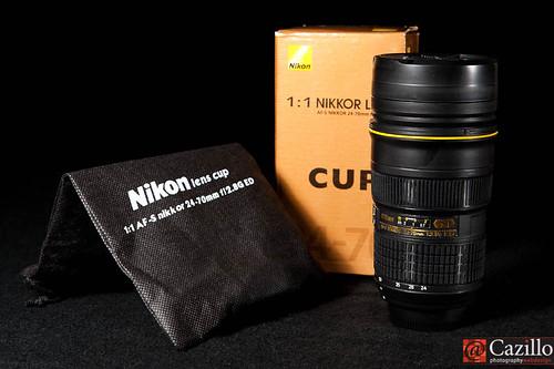 AF-S Nikkor Nikon 24-70mm f2.8G ED N Coffee Mug