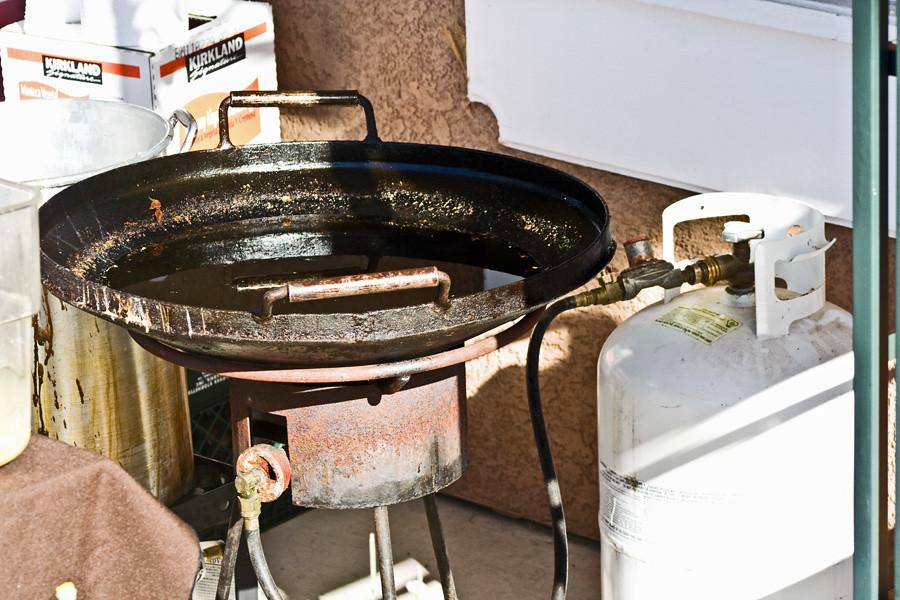 Plow disk cooker