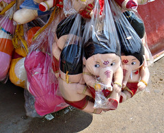 Me me me says Ganesha (illusions-den) Tags: street india photography ganesha indian sony mysore vinayaka softtoy ganapathi ganpathi indiastreets vinayakachathurthi sonydsct20 ganeshachathurthi shoppingindia day10project365toyganesha waysideshop softtoyganesha