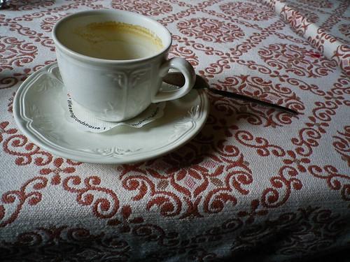 coffee at col de la forclaz