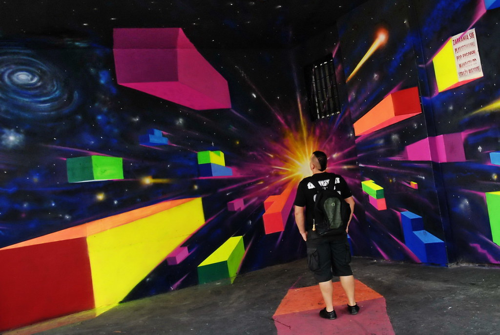 Tetris 3D Fluor Kormoranz