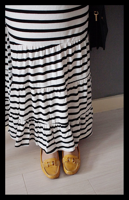 Stripey Maxi Dress
