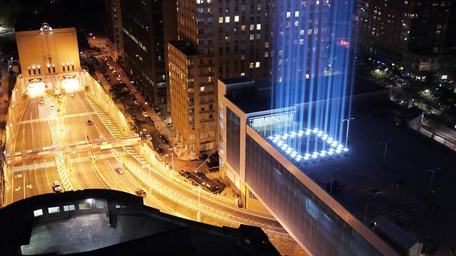 September 11 Tribute In Light