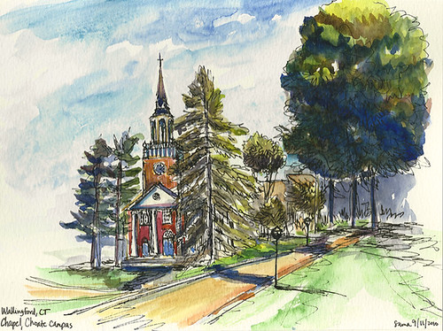 Seymour St. John Chapel, Choate Rosemary Hall, Wallingford, CT