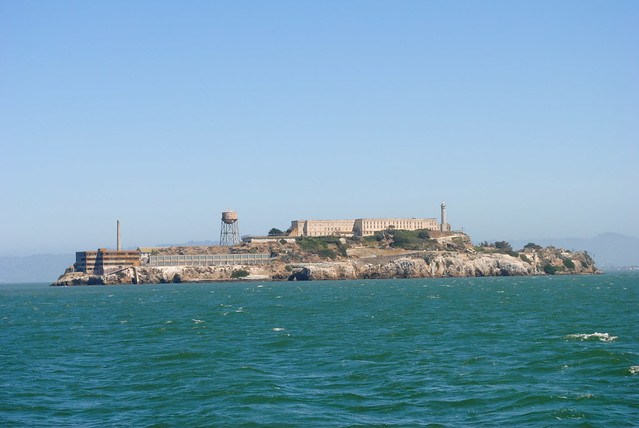 closer view of Alcatraz