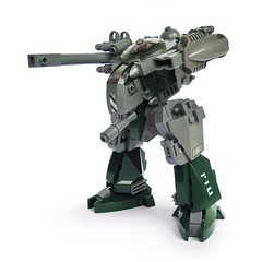Tiinusu m3 - Ground Type (Fredoichi) Tags: tank lego space military walker micro mecha mech battlemech microscale fredoichi
