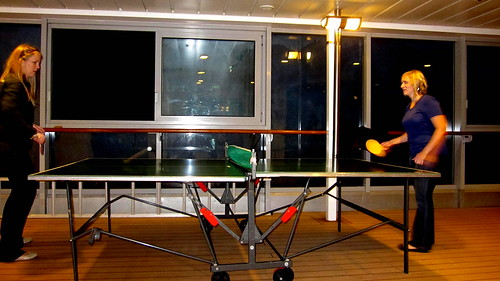 ping pong on board