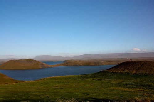 Sk√∫tusta√∞ir by Lake M√Ωvatn - semi craters