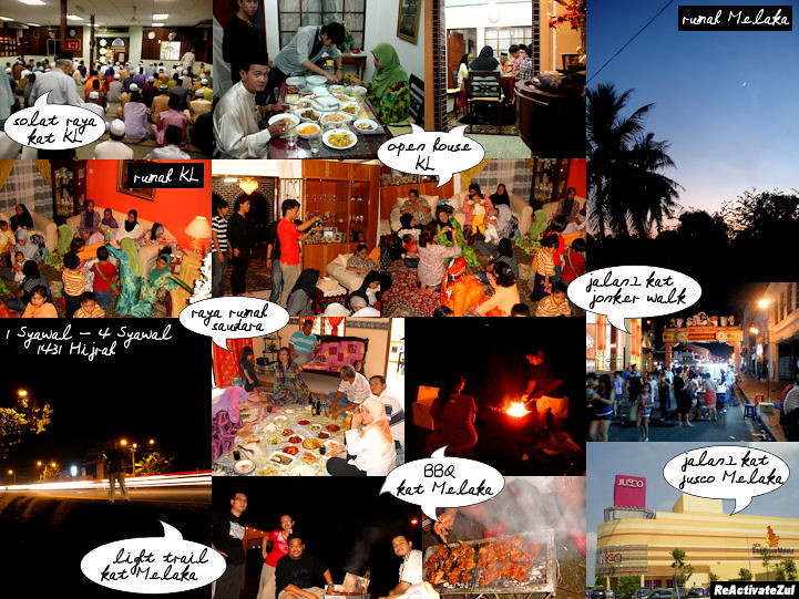 1 - 4 Syawal 1431 Hijrah