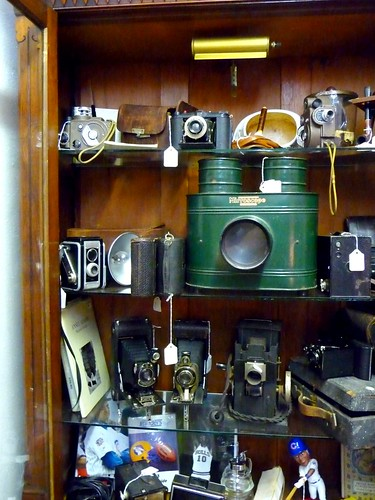 Mirroscope and vintage cameras