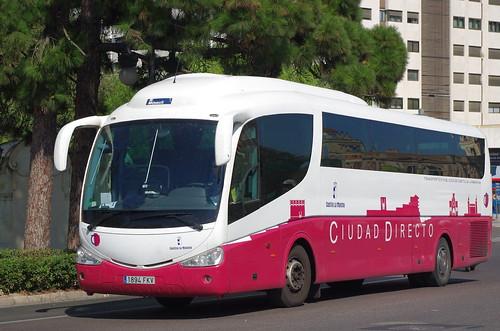Un autobús de Ciudad Directo de JCCM