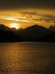 sunset in hong kong (sophie.bee) Tags: sunset silhouette hongkong scenery mountans
