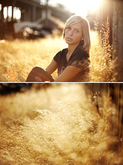 Devynn (jordanvoth.com) Tags: pictures light cute senior beautiful wall fence 50mm rust pretty natural photos pics mark gorgeous 14 jordan chainlink jeans ii 5d tacoma natty devynn voth