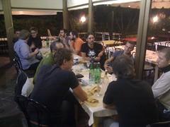pug roma social dinner