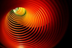 they say the passage of time is linear, but I'm not so sure (photocillin) Tags: art curves explore slinky frontpage concentric linear colorphotoaward timconcept