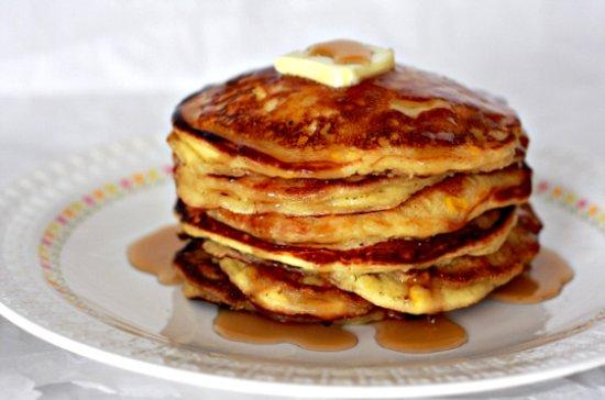 Sour Cream Corn Pancakes