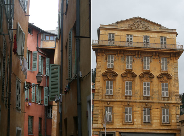 old buildings in the historic center