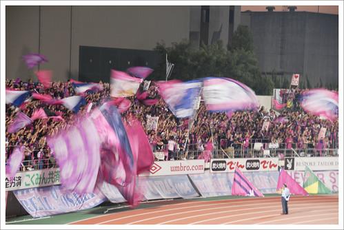 セレッソ大阪ゴール裏@ガンバ大阪 VS セレッソ大阪