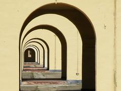 Liberty Station (jimlittle2) Tags: arch sandiego perspective corridor lightandshadow forcedperspective passageway ntc libertystation navaltrainingcentersandiego