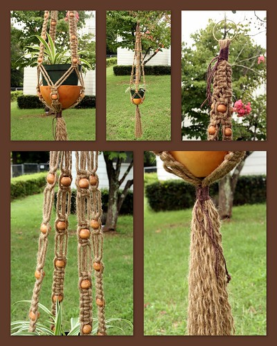 macrame plant hanger patterns | eBay - Electronics, Cars, Fashion