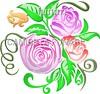 desenho foto tatoo rosas aspiral folhas amor Desenho foto tatoo