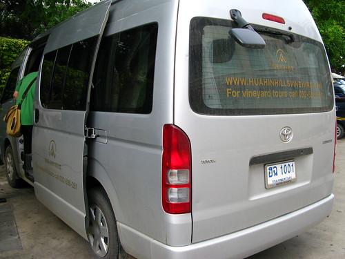 Hua Hin Hills transportation