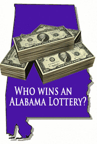 Who wins an Alabama Lottery?