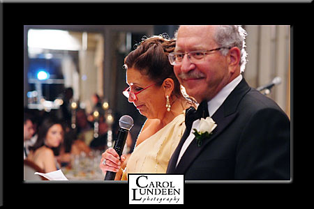 Abramovitz Neiderman wedding toasts Pine Brook 2