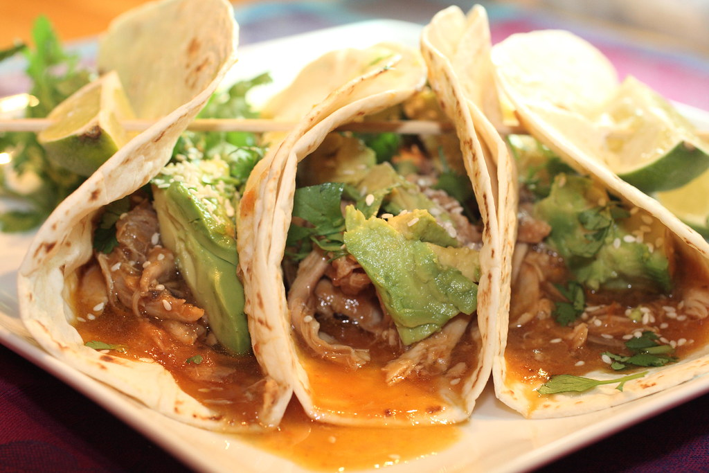 5008693689 c0e96fb320 b d Beer Braised Chicken Tacos