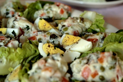 Greek-style Russian Salad