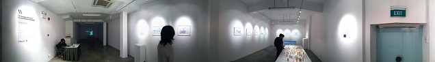 Panorama of my exhibition