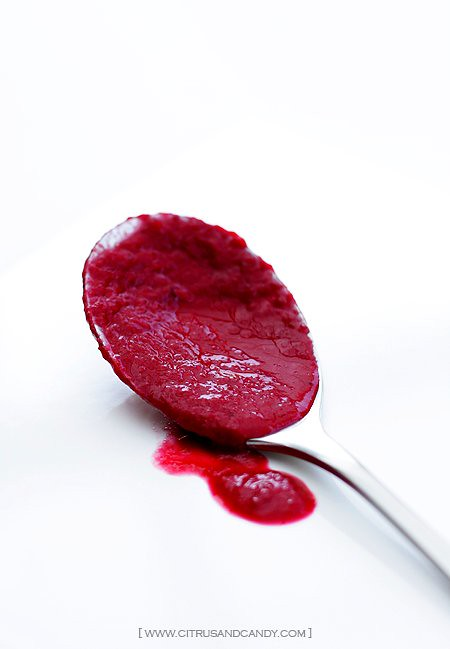 ... creme fraiche recipes dishmaps roasted beet soup with thyme lemon and