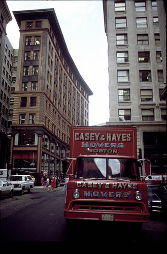 Casey Hayes moving truck