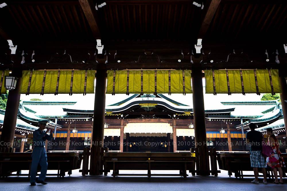Meiji Jingu Shrine (明治神宮) @ Tokyo, Japan