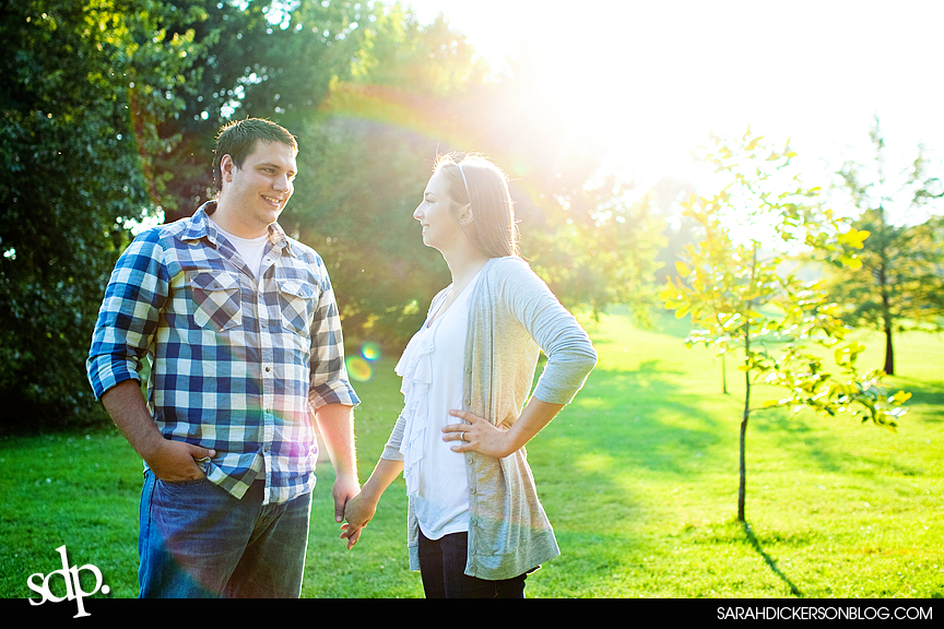 Loose Park Kansas City Missouri engagement photos