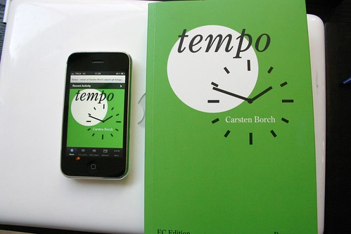 Tempo som Iphone og Android app