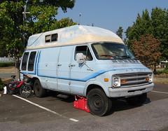 Dodge Tradesman (NCnick) Tags: camping nc north carol