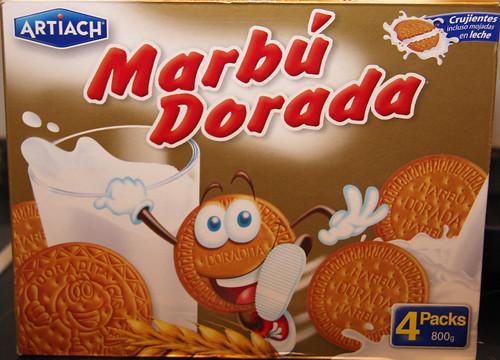 Marbú Dorada box