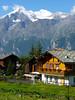 Swiss Chalet (SamLoz Photography) Tags: wood mountain snow ski forest schweiz switzerland suisse swiss chalet slate svizzera ardoise warming alpe global eternal valais mywinners abigfave mygearandmepremium
