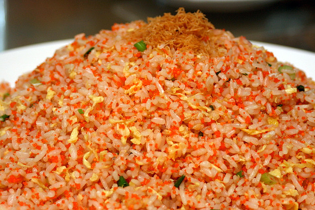 Fragrant Fish Roe Fried Rice