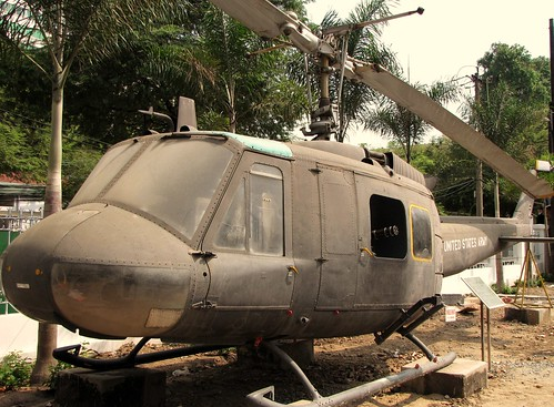 War Remnants Museum - UH-1H Huey Helicopter