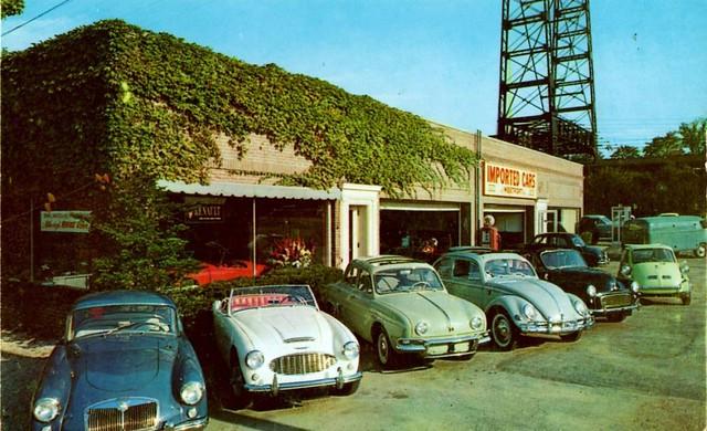 Imported Cars of Westport, Westport, CT, 1950s