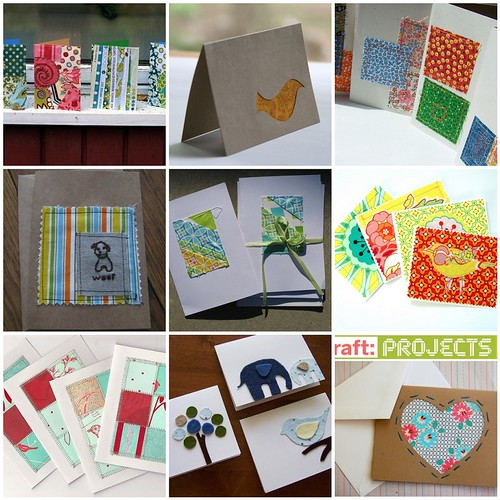 *Inspiration* Stitched Notecards
