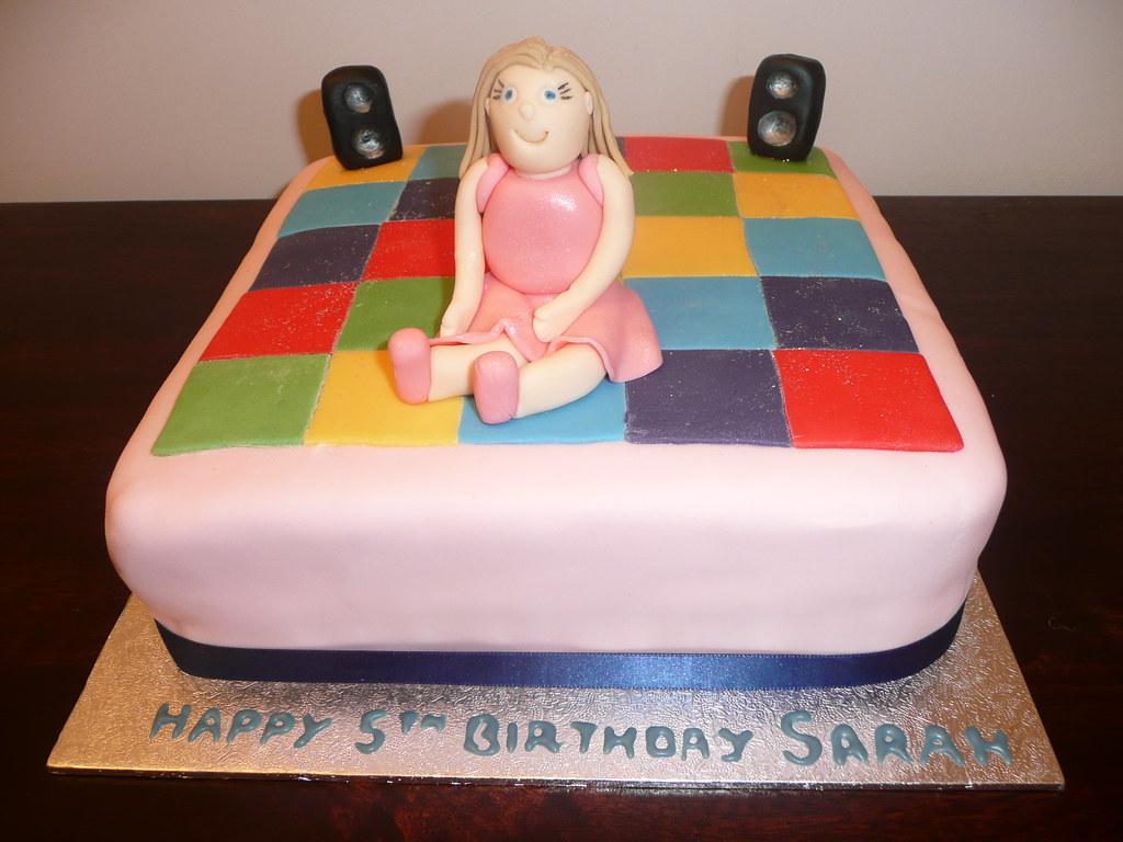 Dancefloor cake