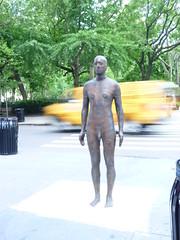 """Event Horizon"" by Antony Gormley (navema) Tags: nyc ny newyork art iron artist body manhattan exhibition human publicart fiberglass madisonsquarepark figures sculptures antonygormley eventhorizon flatirondistrict navema"