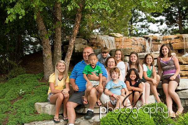 jim & marva family grandkids