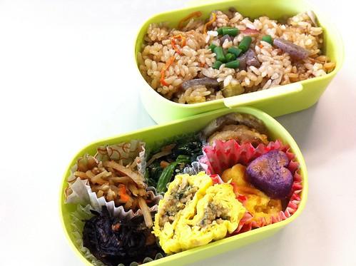 今日のお弁当 No.20 – 炊き込みご飯