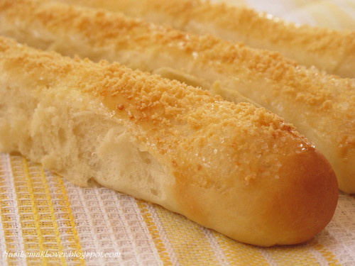 Parmesan cheese au Lait bread sticks